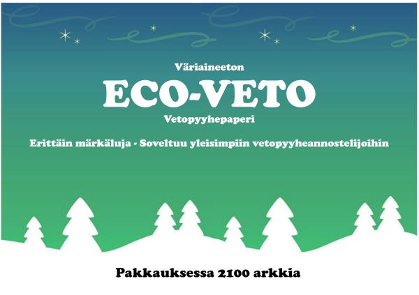 eco-veto käsipyyhepaperi